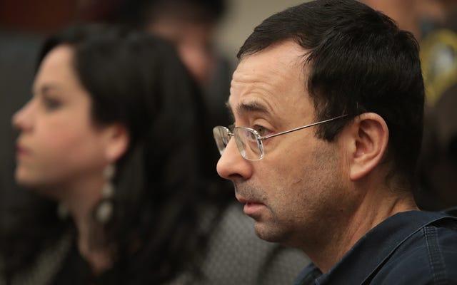 Les flics ont clôturé l'affaire de 2004 après que Larry Nassar a dit que ce qu'il avait fait était un traitement médical  