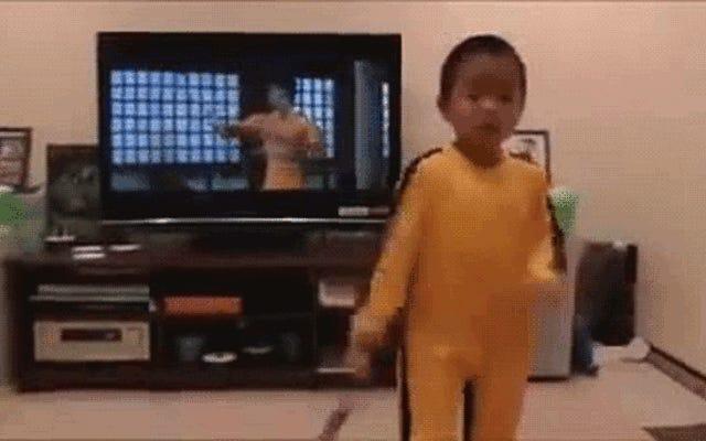 Đứa trẻ bốn tuổi giết chết kẻ giết người Lý Tiểu Long