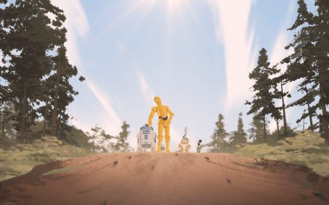 Dalam Pendek Eksklusif Star Wars Ini, Droid Yang Menyelamatkan Galaxy