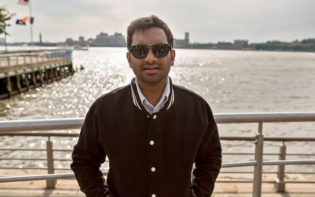 Bu açılış haftasonunda, Amerika'nın aklındaki tek kişi ... Aziz Ansari.