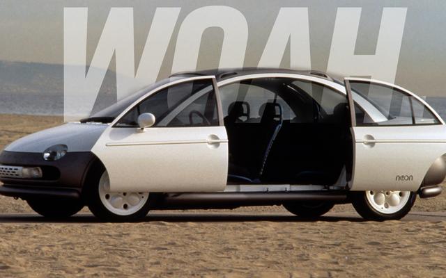 クライスラーネオンのコンセプトカーはあなたが覚えているよりもはるかに涼しいです
