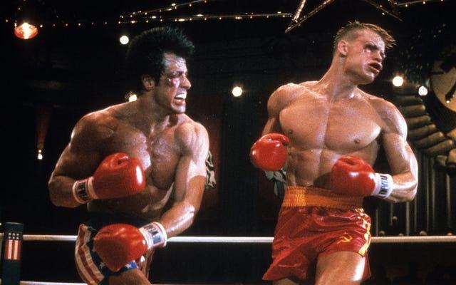 ซิลเวสเตอร์สตอลโลนแซวผู้กำกับ Rocky IV ว่าเขาจะตัดหุ่นยนต์ของ Paulie