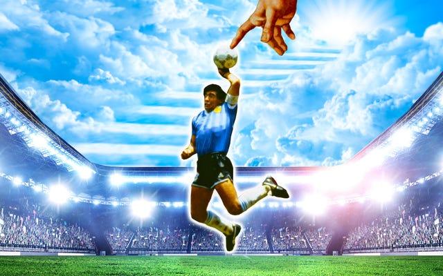 Maradona, el mejor humano en hacerlo