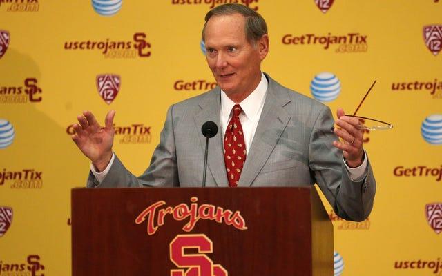 Rapport: USC AD Pat Haden a canalisé l'argent de la Fondation des bourses d'études à lui-même, Trojan Athletics