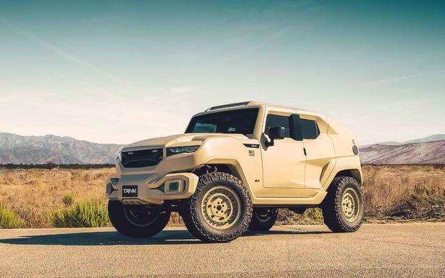 これで、ナイトビジョン、テーザーハンドル、スモークスクリーンを備えたこの装甲SUVを購入できます。