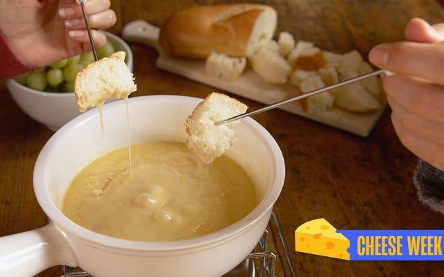 最も悪意のあるチーズ体験であるフォンデュディナーパーティーを復活させる