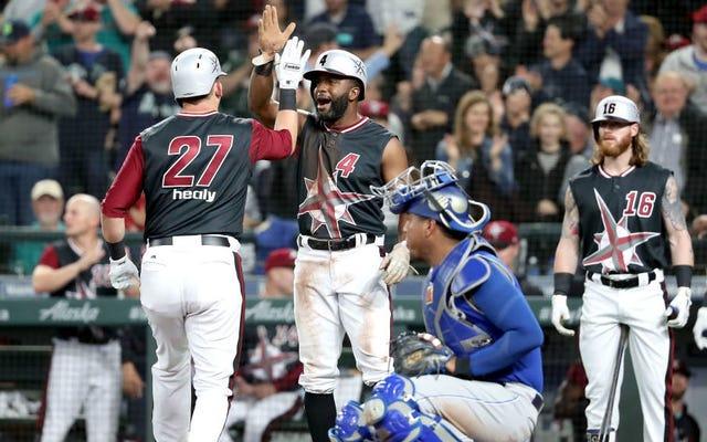 """Los Marineros de Seattle celebran un futuro desolador y distópico con espantosos uniformes nocturnos """"Turn Ahead The Clock"""""""