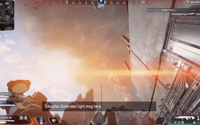 エーペックスレジェンドのプレイヤーは、ゲームの空の光を理解しようとしています
