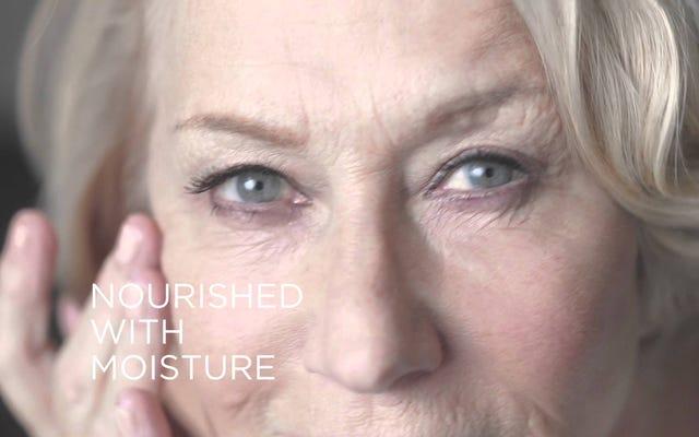 L'Oréal n'a en fait pas effacé les rides d'Helen Mirren