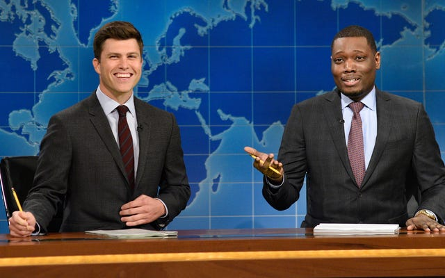 SNL sta prendendo il controllo degli Emmy, a cominciare da Michael Che e Colin Jost