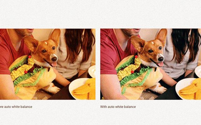 Google Photos จะปรับสมดุลแสงขาวของรูปภาพโดยอัตโนมัติ