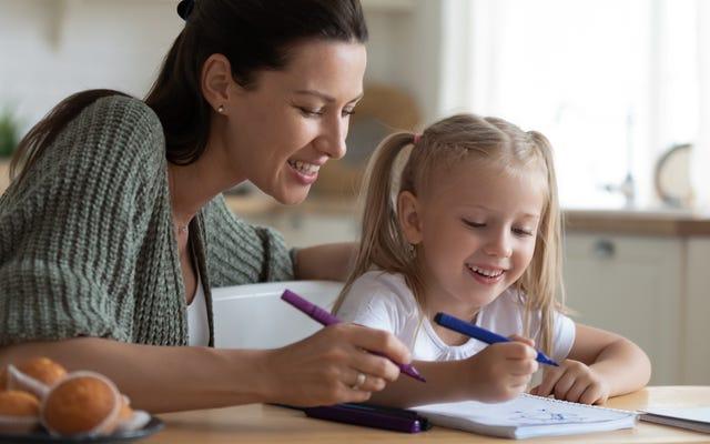Lassen Sie Ihr Kind an sein zukünftiges Selbst schreiben