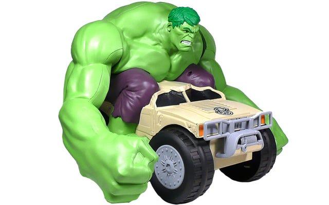 RC Hulk fait exactement ce que les enfants veulent qu'il fasse: Smash Stuff