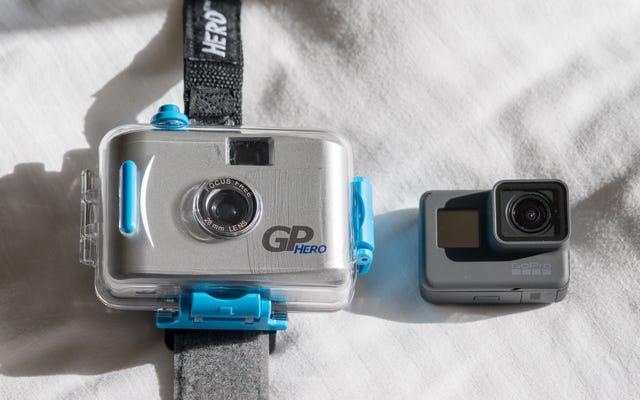 Comparer la GoPro originale 2004 à la plus récente est ridicule, mais nous l'avons quand même fait