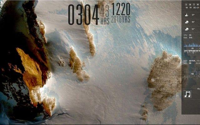 南極の風景デスクトップ