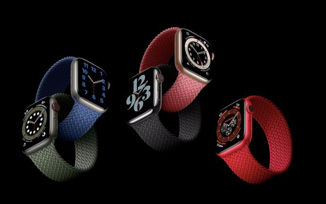 Voici l'Apple Watch Series 6 et c'est son nouvel ami, l'Apple Watch SE