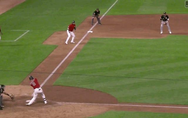 Luis Arraez des jumeaux embarrasse le joueur de terrain des White Sox avec une physique magique