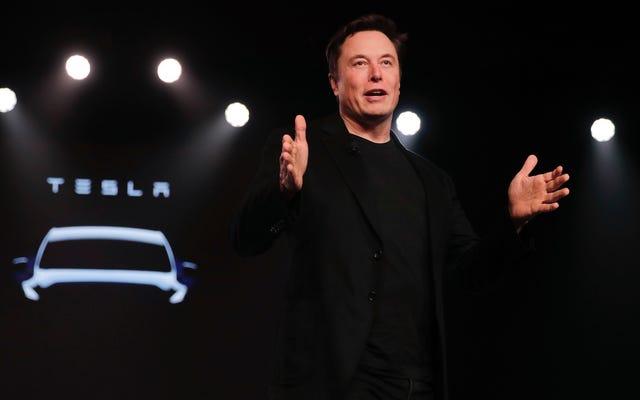 Elon Muskは、Teslaが11月にピックアップを発表すると述べています