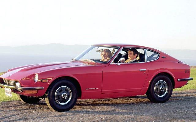 La voiture japonaise classique que vous voulez prend de la valeur