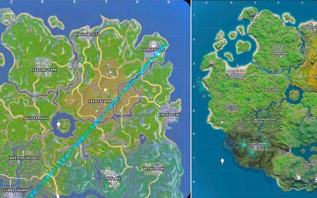 Fortniteの新しいマップは数週間前にRedditでリークされましたが、誰もがそれは偽物だと思っていました