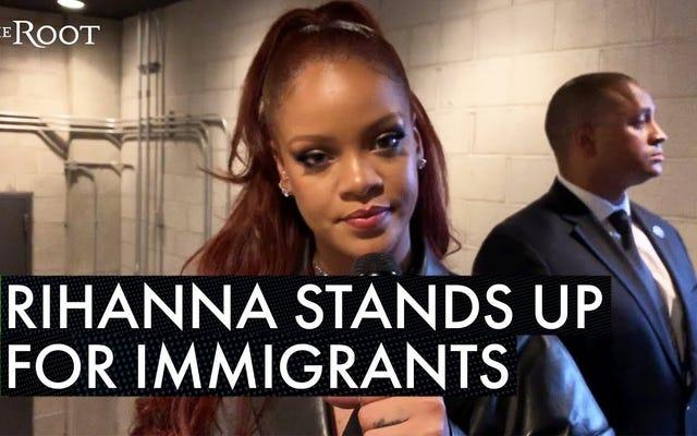 ชม: Rihanna พูดถึงการเข้าเมืองในงาน BET Awards