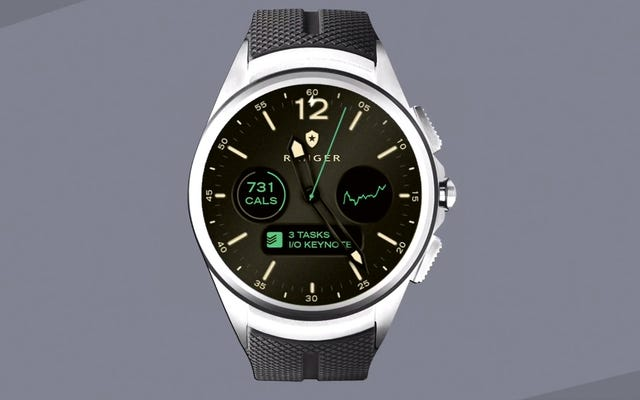 Android Wear 2.0はスマートフォンによっては停止し、小さなスマートキーボードが搭載されます