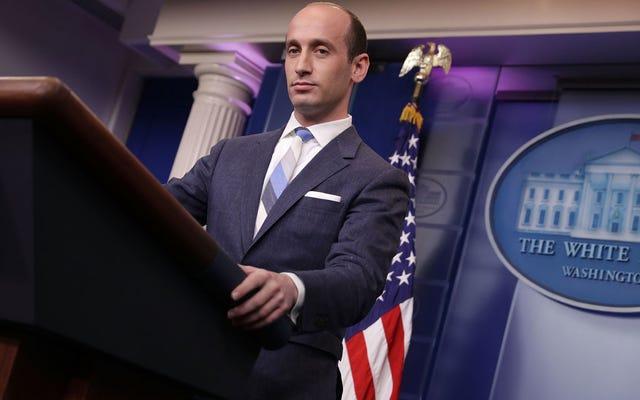अंत में, एक व्हाइट हाउस प्रेस कॉन्फ्रेंस पूरी तरह से बंद हो गया, और यह लंबे समय तक होना चाहिए था