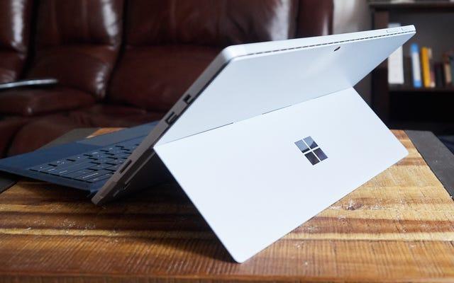 การ จำกัด ผลิตภัณฑ์พื้นผิวใหม่ของ Microsoft เข้ามามีส่วนสำคัญ