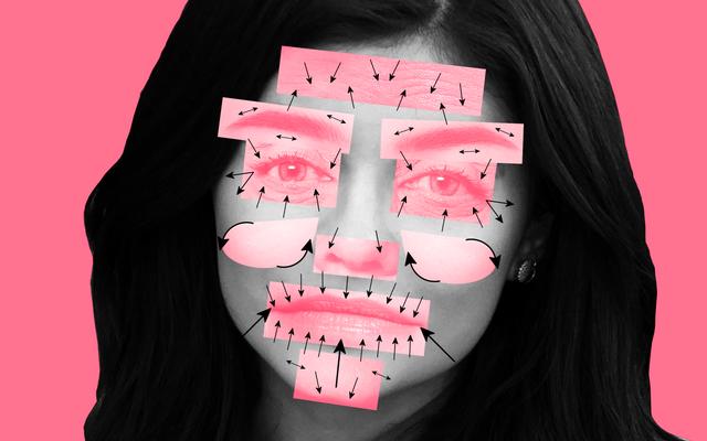大収縮:有名な顔に何が起こっているかについての形成外科医