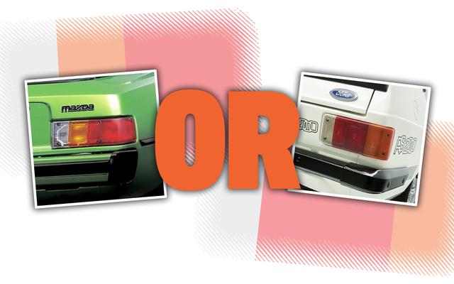 簡単な質問:テールライトの色の配置が優れているのはどれですか?