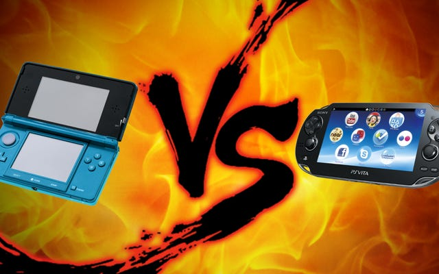 携帯型ゲームの対決:ニンテンドー3DSとプレイステーションヴィータ