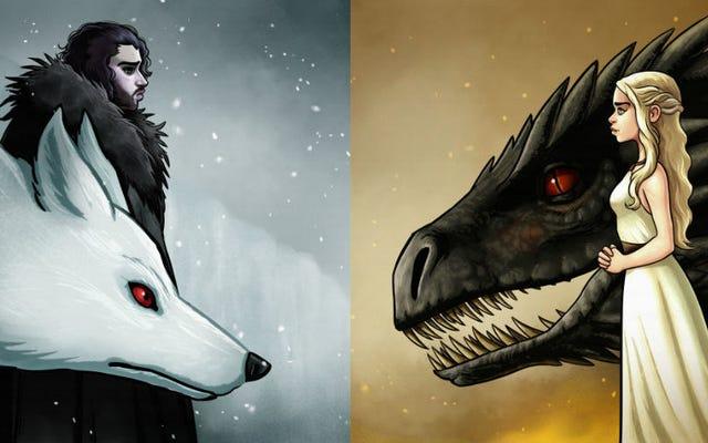 Sezon 8 Game of Thrones niedługo się rozpocznie, więc delektuj się chwilą dzięki tej sztuce