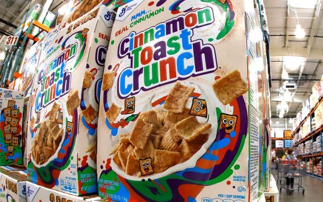Gamberetti alla cannella Toast Crunch è la nuova acqua di piscio?