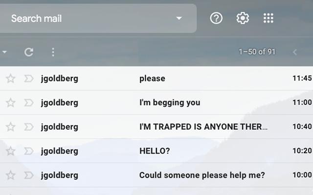 Đồng nghiệp làm phiền liên tục gửi email sau giờ làm việc mà anh ta bị mắc kẹt trong thang máy văn phòng