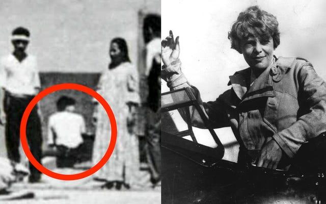 専門家は、アメリア・イアハートを見せたとされるその新しい写真に疑いを投げかけます