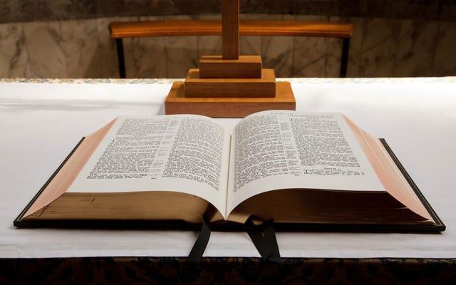 Perché la maggior parte delle Bibbie stampa due colonne su ogni pagina