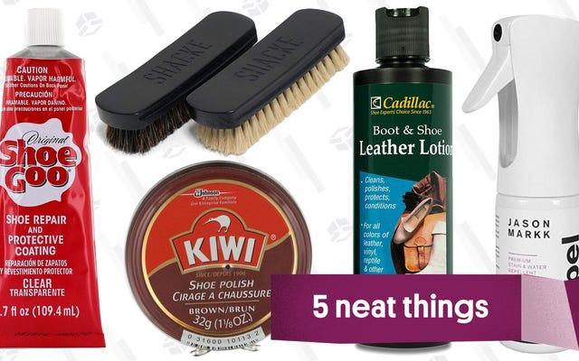Lima Produk yang Anda Butuhkan Agar Musim Dingin Tidak Menghancurkan Sepatu Anda