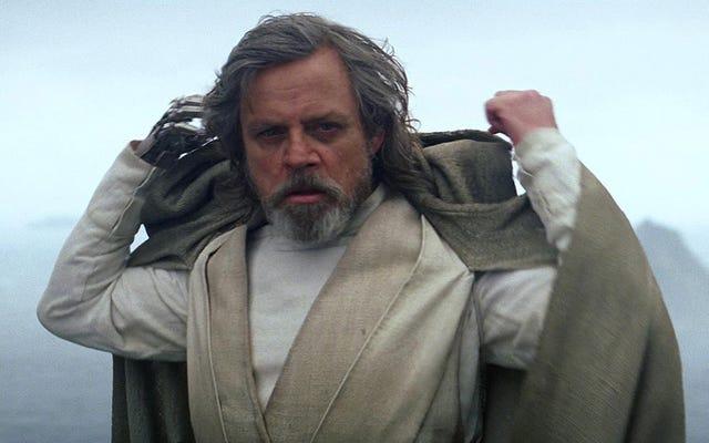 Mark Hamill détruit la théorie la plus répandue sur le destin de Luke dans The Last Jedi