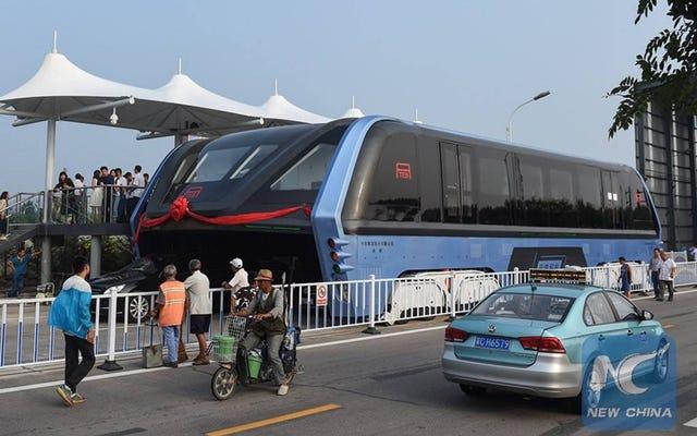 Các cuộc kiểm tra đường hầm xe buýt của Trung Quốc bị đình chỉ do có khả năng là gian lận