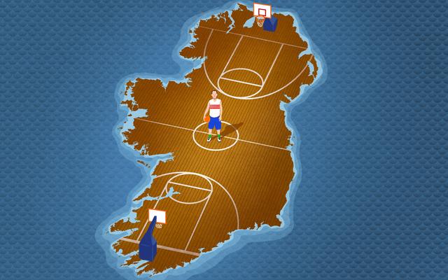 ทีมออลสตาร์ตัวปลอมในนักบิดที่เป็นแรงบันดาลใจให้ไอร์แลนด์เล่นบาสเก็ตบอล