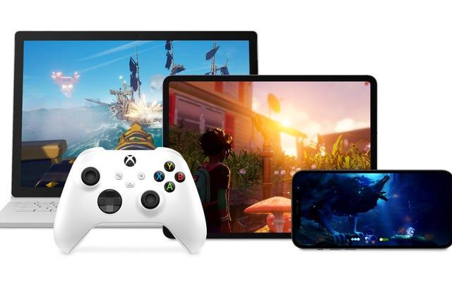 Xbox खेल पीसी और iOS पर कल शुरू हो जाएगा - यदि आप एक आमंत्रित स्कोर