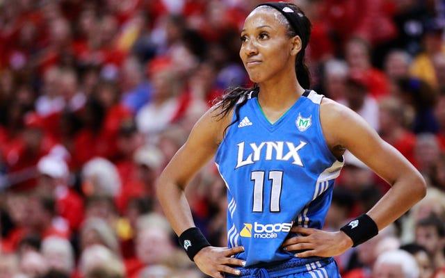 कैंडिस विगिन्स का दावा है कि उन्हें WNBA में सीधे होने के लिए धमकाया गया था