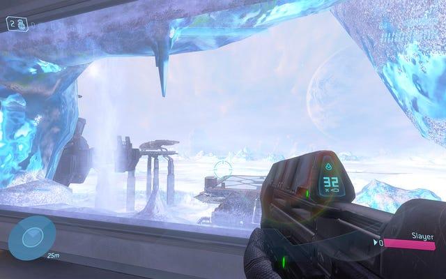 年は2021年で、新しい公式Halo3マップをプレイしました