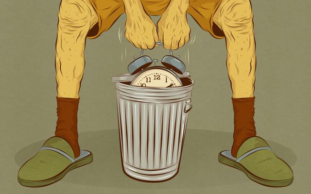 Les plus grandes pertes de temps les plus regrettées en vieillissant