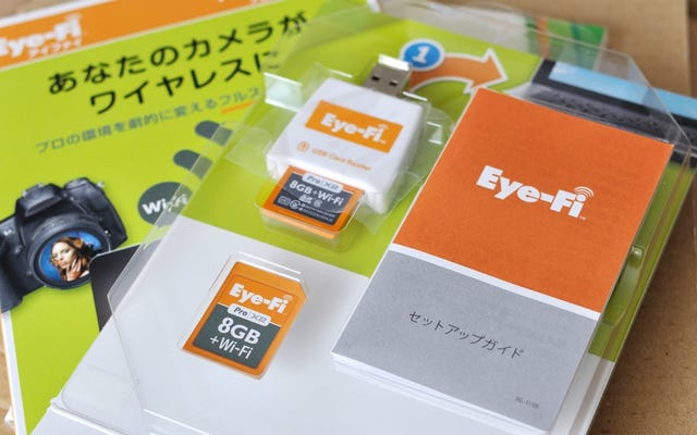 Eye-Fi está abandonando el soporte para tarjetas Wi-Fi más antiguas, dejándolas inútiles