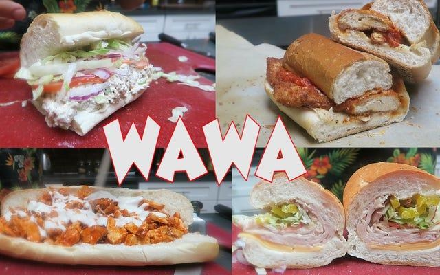 Сделайте все меню сэндвичей Wawa Hoagie самостоятельно, дома