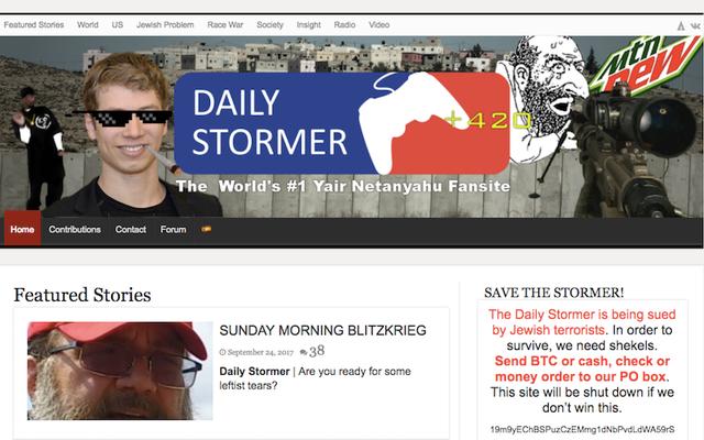 アイスランドは、プロバイダーが望んでいないネオナチのウェブサイトであるデイリーストーマーの未来を考えています