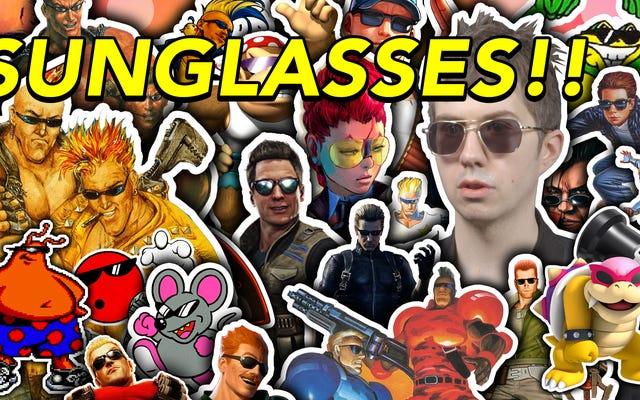Wiele okropnych postaci z gier wideo nosi okulary przeciwsłoneczne