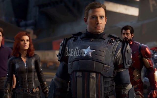 Trò chơi The Avengers sẽ trông như thế nào với các khuôn mặt trong phim