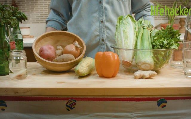 Cara Menanam Sayuran Dari Sisa-sisa Dapur
